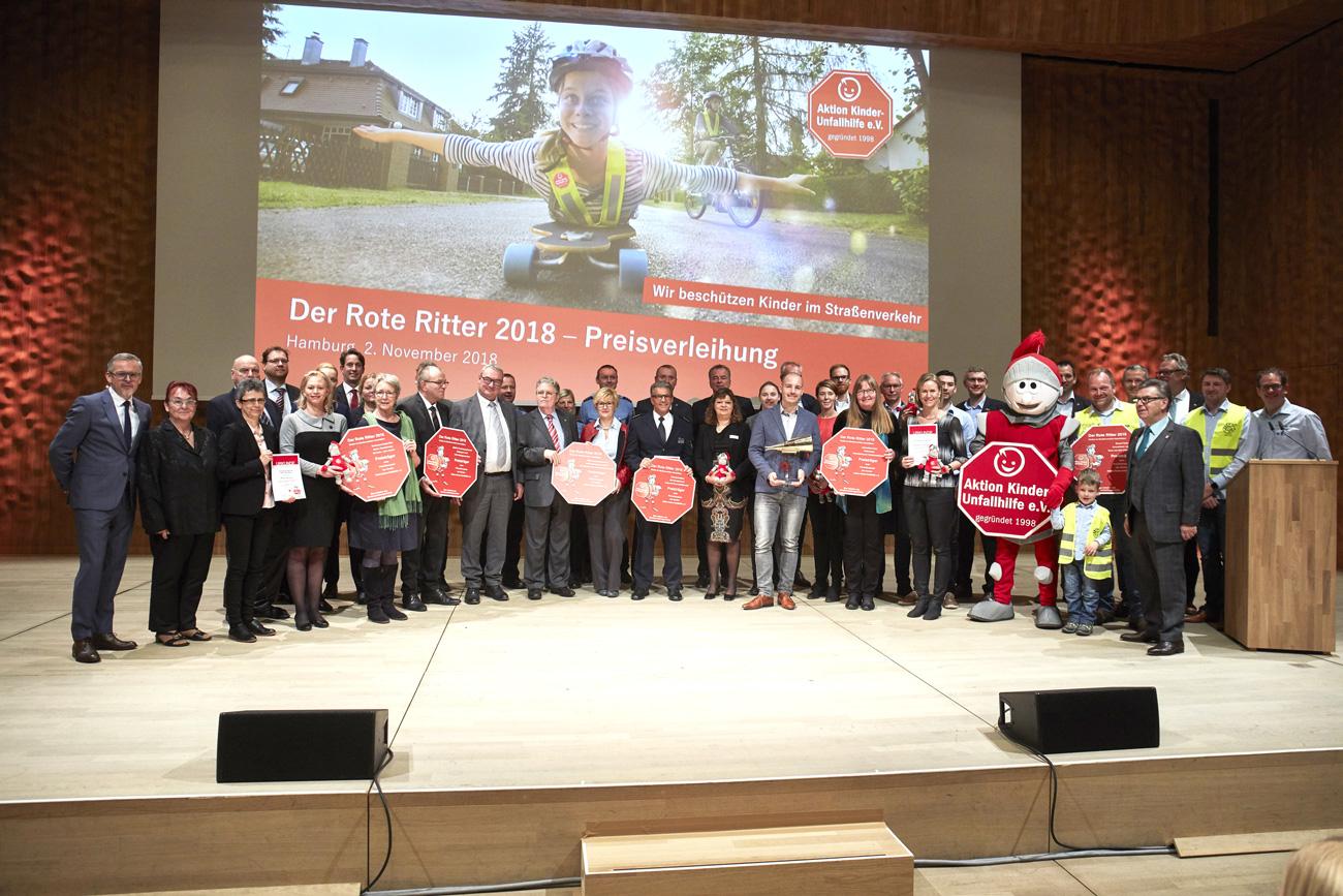 Soloplan Preisverleihung roter Riter Aktion Kinder-Unfallhilfe