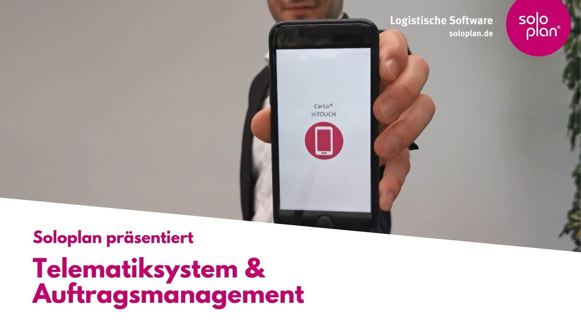 Telematiksystem & Auftragsmanagement