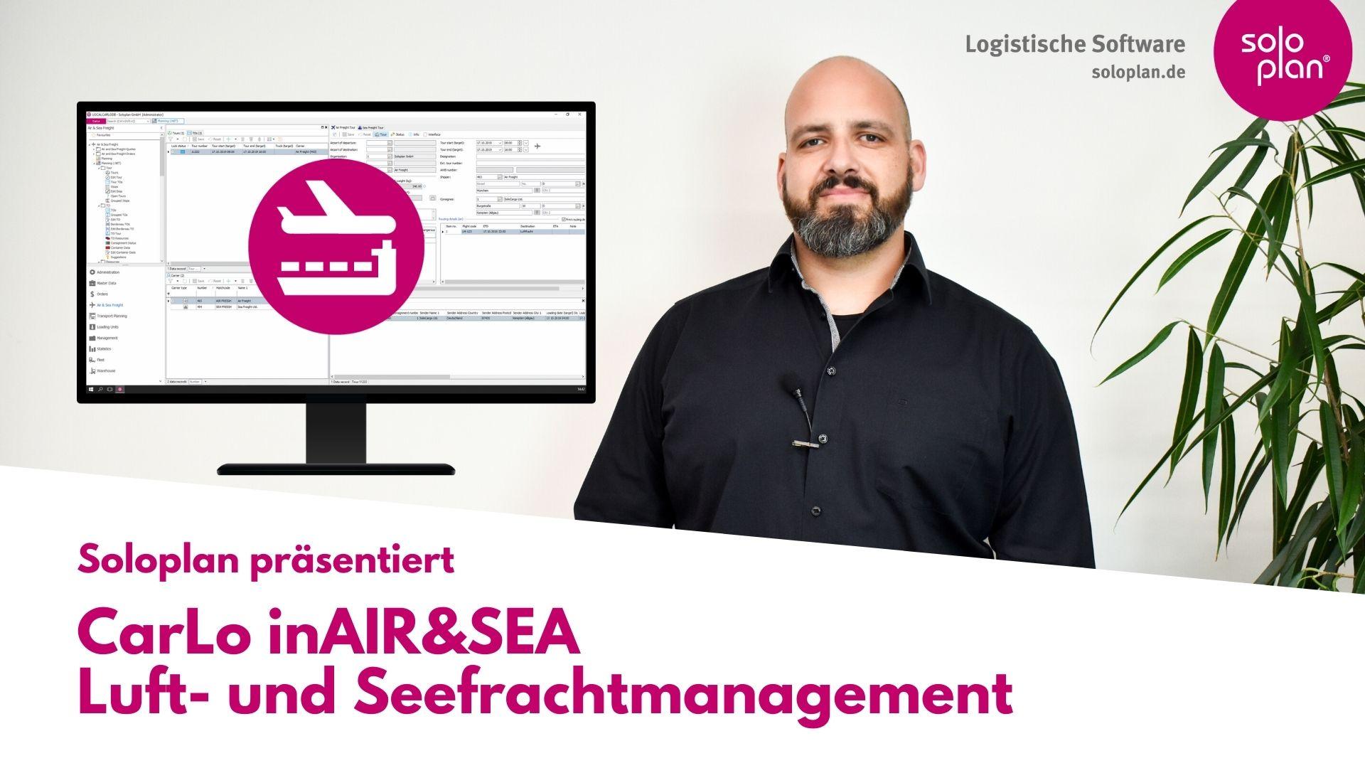 CarLo inAIR&SEA Luft- und Seefrachtmanagement