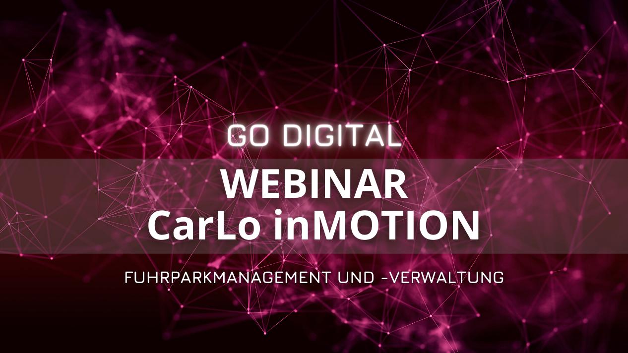 Webinar Carlo inMOTION