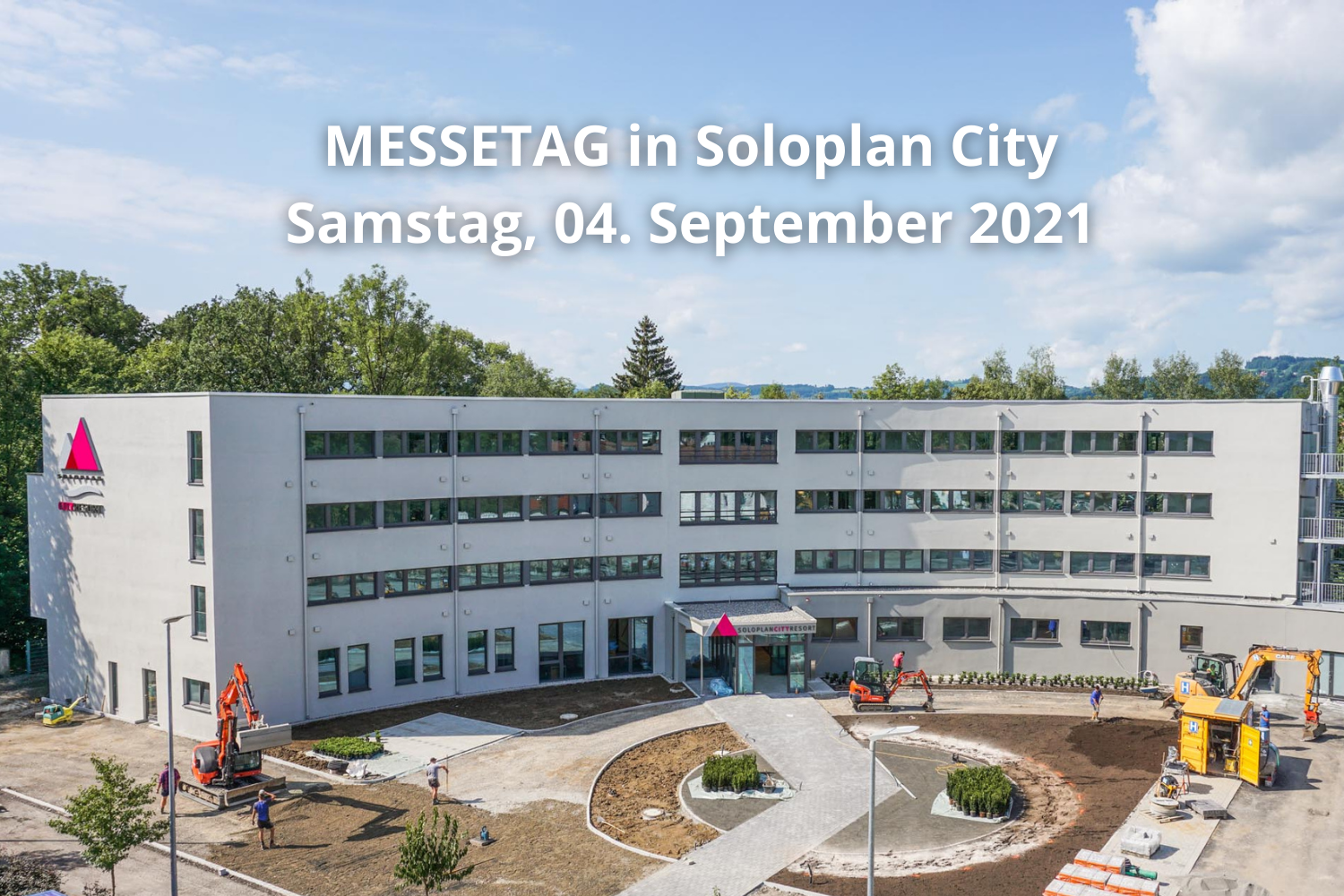 Messetag in Soloplan City