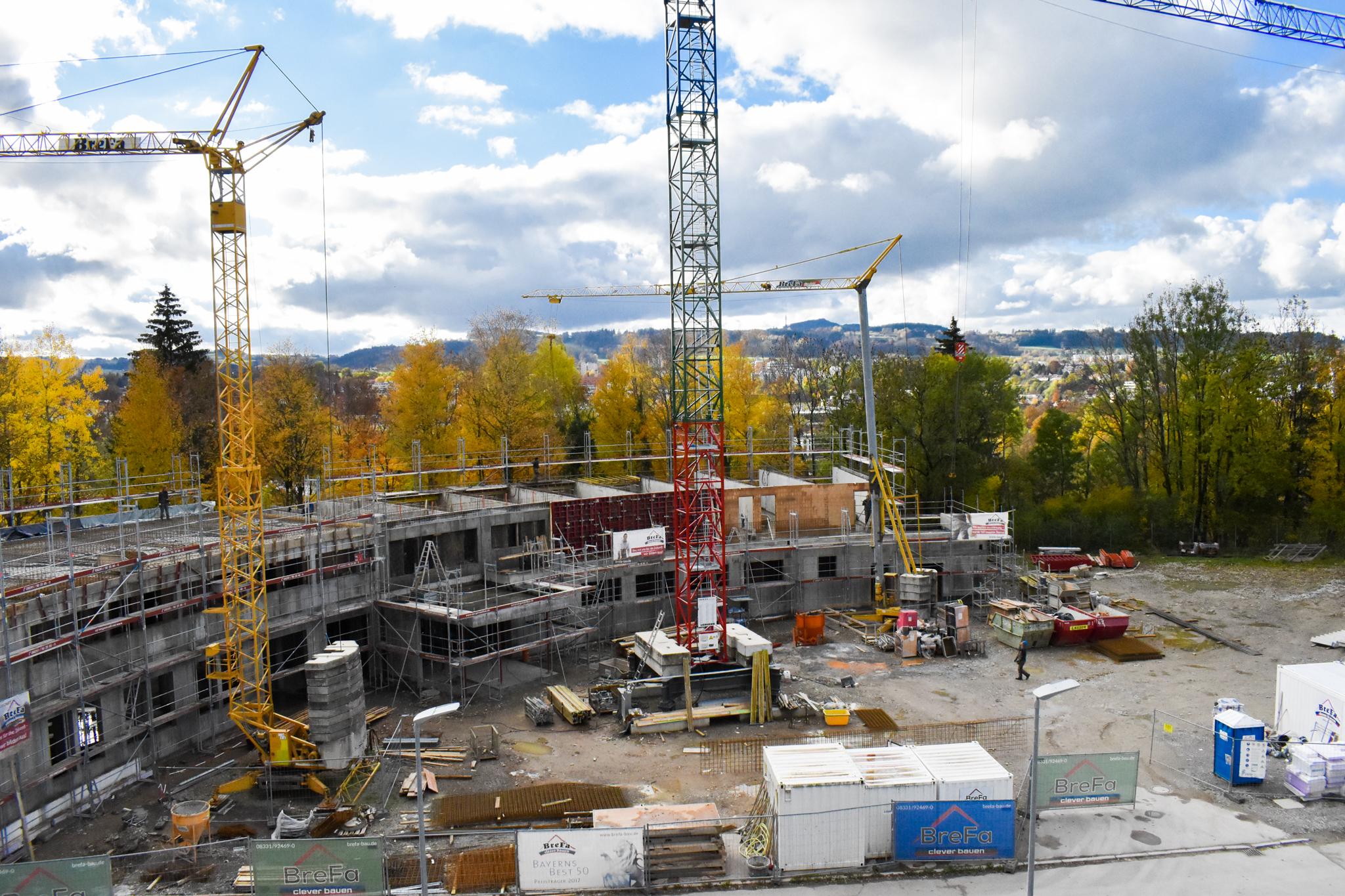 Der Bau von Mai 2020 bis Januar 2021